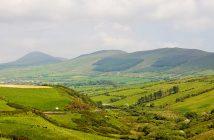 Irish hillside