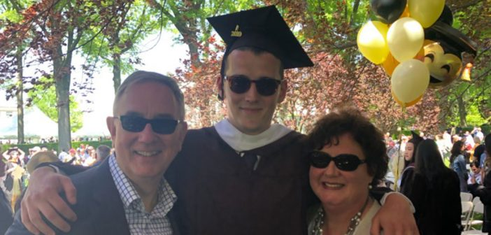 FCLC grad Henry Copeland Boyd with parents