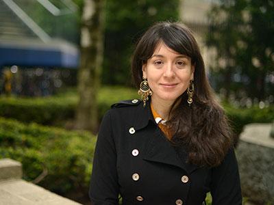 GSAS doctoral graduate Esther Liberman Cuenca