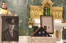 Brian Jordan, O.F.M., speaks at the Memorial Mass for Dominic Ternan, O.F.M.