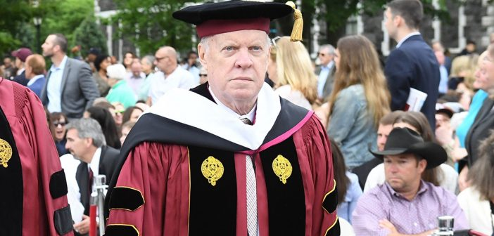 Paul Williamson at Commencement 2017