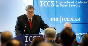 William Barr the the ICCS Conference 2019