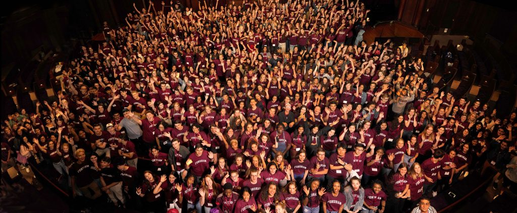 The Fordham College at Lincoln Center Class of 2023