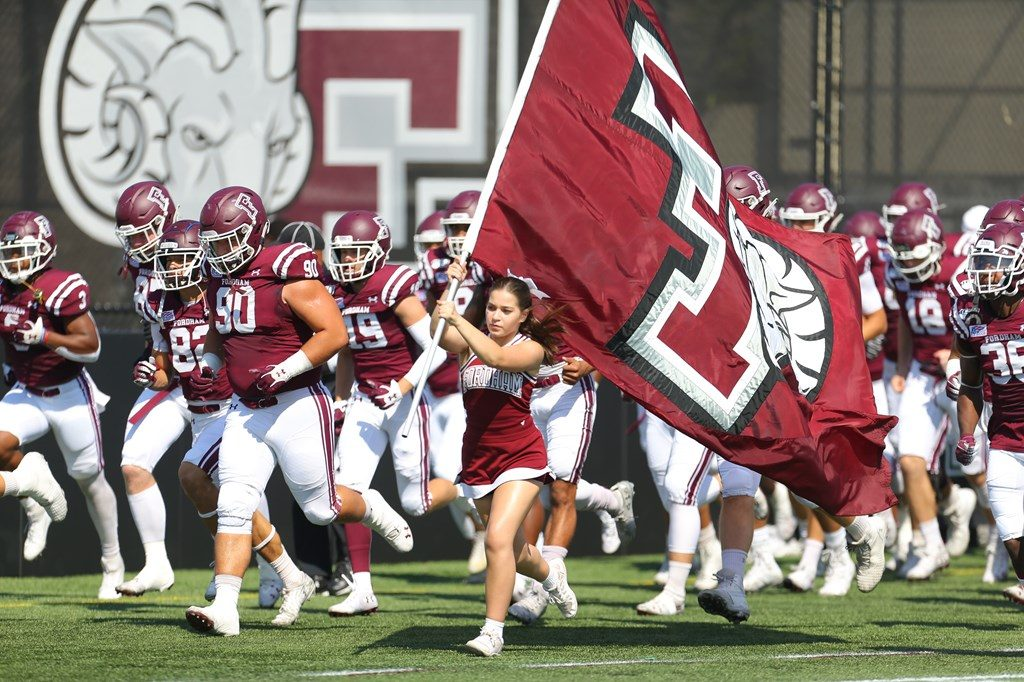 Fordham Rams take the field on Family Weekend, September 28, 2019