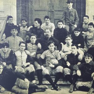 The 1893 Fordham football team