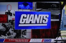 Collage of Fordham and Giants images