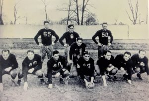 Fordham football's famed linemen, the Seven Blocks of Granite,