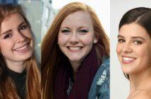 Briana Boland, Kaetlyn Conner, and Caroline Shriver