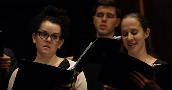 Voices Up choral singers singing