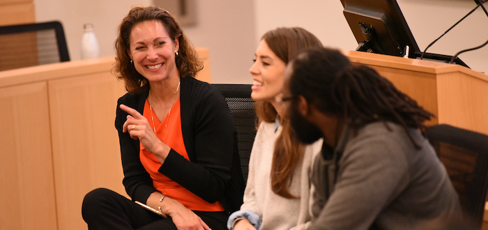 Emily Bazelon speaks at Fordham Law
