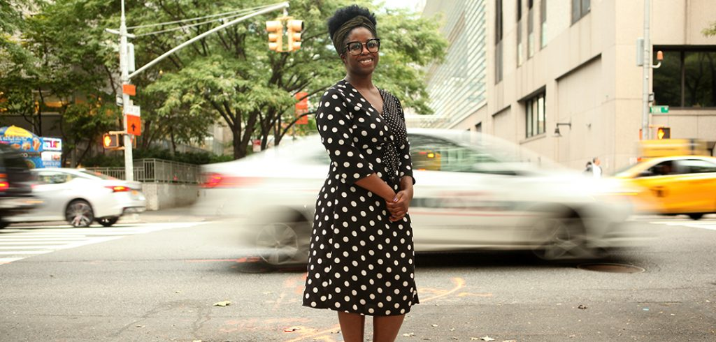 Michelle Charles on Manhattan's Upper East Side