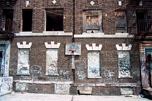 N.B.A., St. John's Place, Brooklyn, 1995