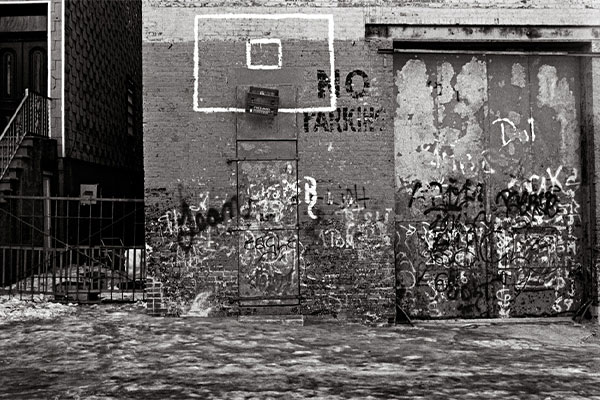 No Parking, 18th Street, Brooklyn, 1977