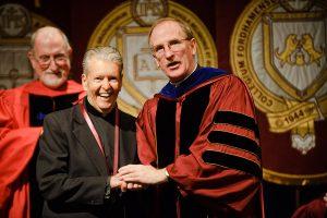 Dan Sullivan and Father McShane