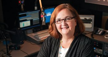 Lynn Neary in the NPR studios.