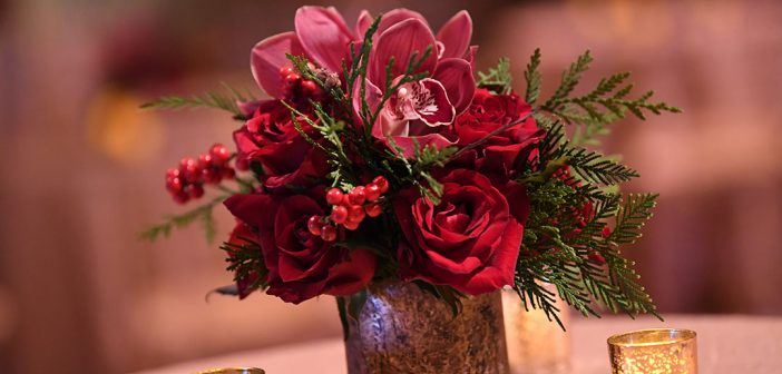 GuFlowers at the President's Club Christmas Reception 2019