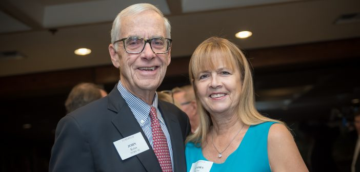 Trustee Fellow John Kriss, FCRH ' 62 and Sandy Kriss