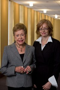 Mary Higgins Clark and Mary Bly