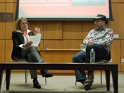 Matthew Zachary is interviewed by Professor Christine Janssen
