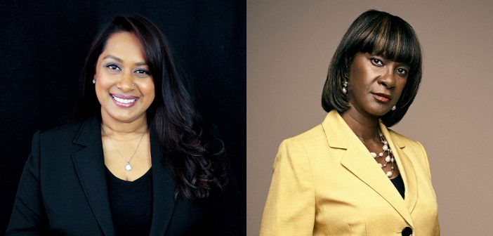 Bharati Sukul Kemraj and Lisa Payne Wansley were both named to City and State's 2020 Above and Beyond List.