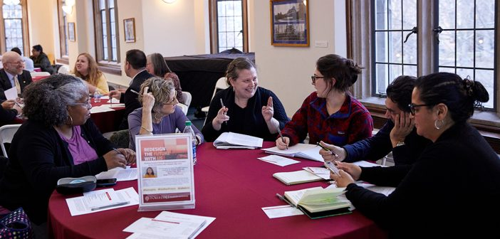 Group meets for ReIMAGINE Higher ed