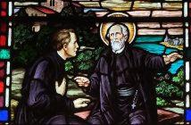Saint Alphonsus Rodriquez and Saint Peter Claver, Stained Glass
