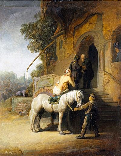 Good Samaritan Rembrandt