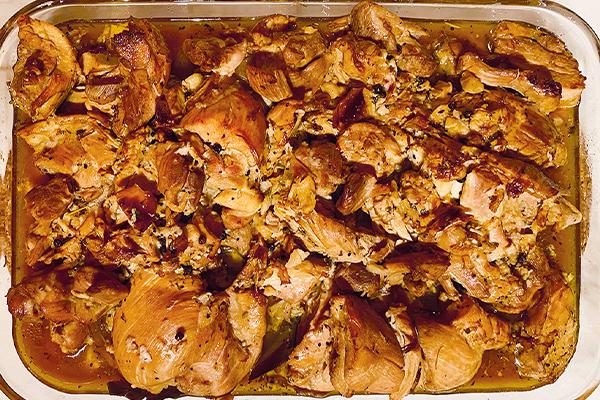 Clint Ramos's chicken adobo