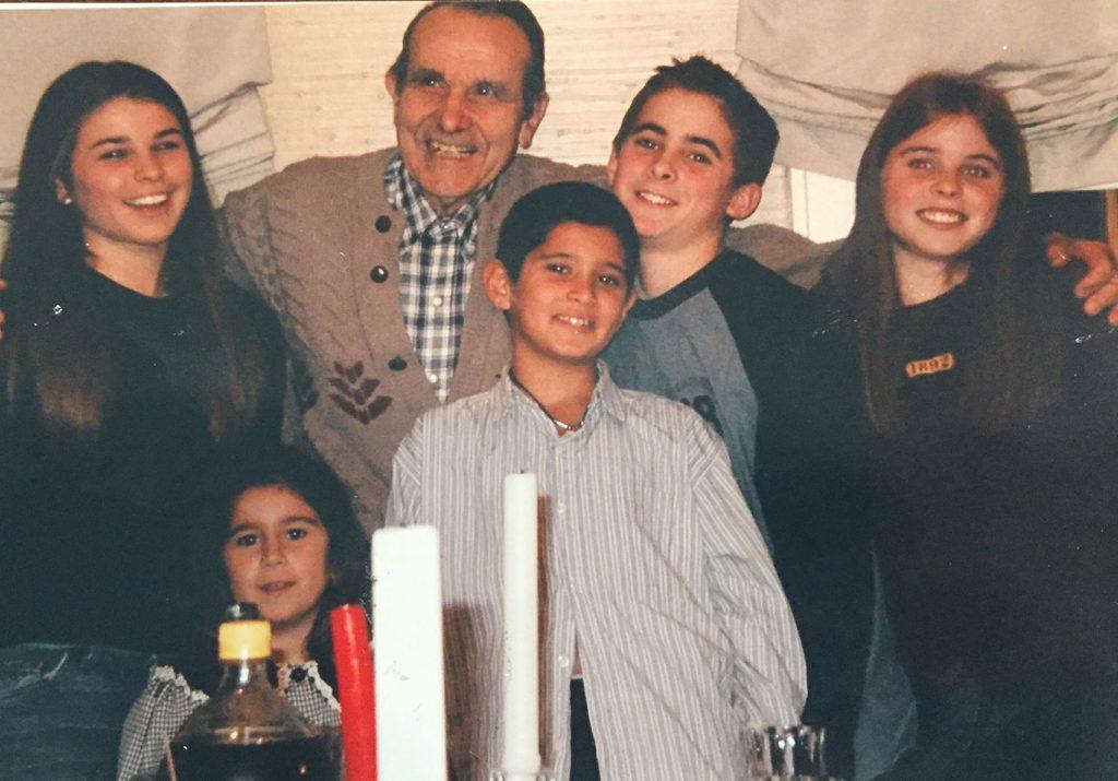 Cammarasano with his family