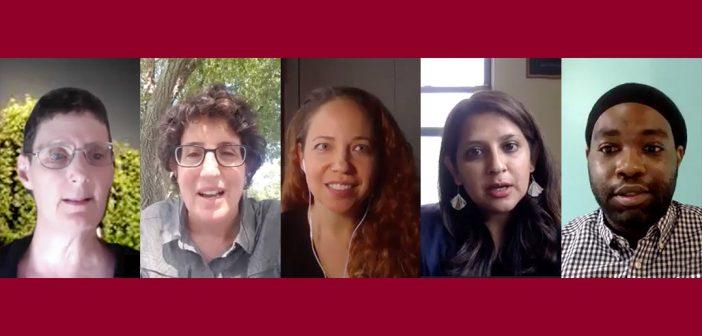 Tina Maschi, Laura Wernick, Kimberly Hudson, Sameena Azhar, and Christopher Curtis