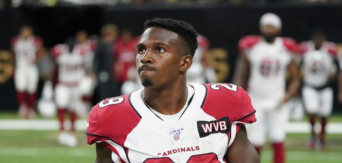 Arizona Cardinals running back Chase Edmonds, a 2018 Fordham graduate