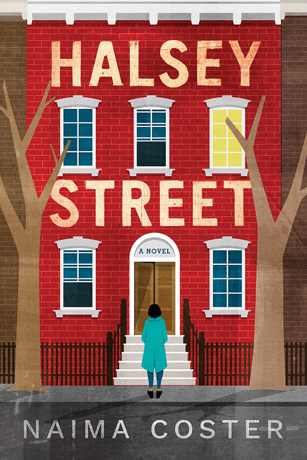 "Cover image of ""Halsey Street,"" the debut novel by Fordham graduate Naima Coster"