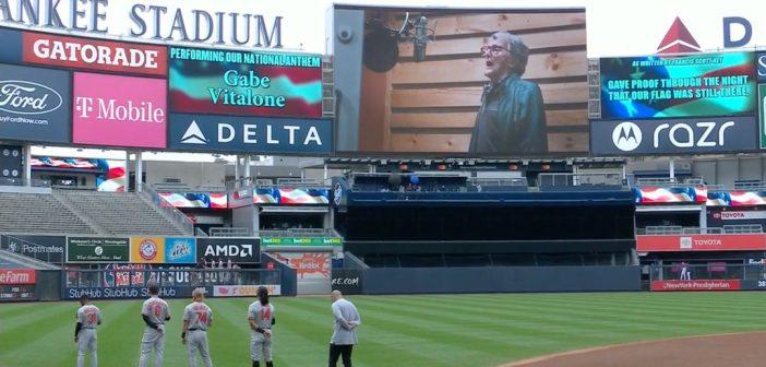 Fordham Graduate, World War II Vet Sings National Anthem for the Yankees