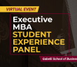 virtual event: executive MBA student experience Panel