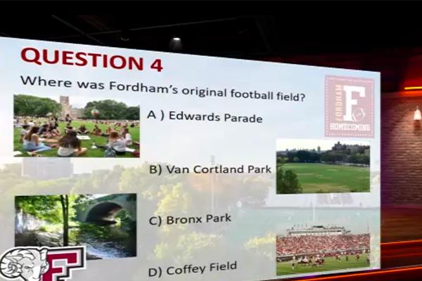 A screenshot of a pub trivia question.