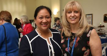 Paula Mahayosnand and Melissa Prout-Gnann