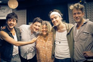Mumford and Sons and Rita Houston