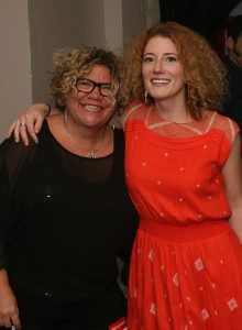 Rita Houston and Kathleen Edwards, circa 2013