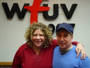 Rita Houston and Paul Simon