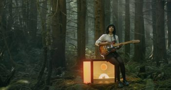 "A still from the music video for Deep Sea Diver's ""Impossible Weight."""