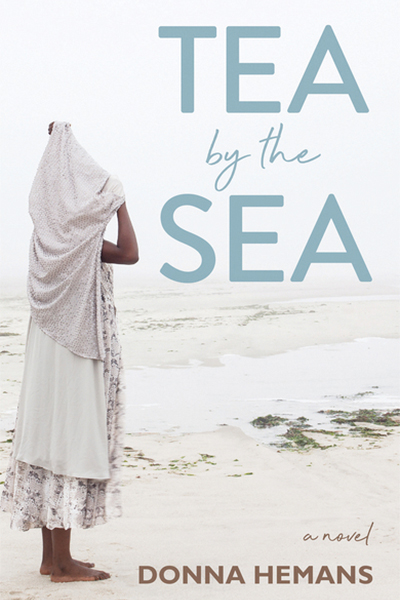 The book cover of Tea By the Sea.