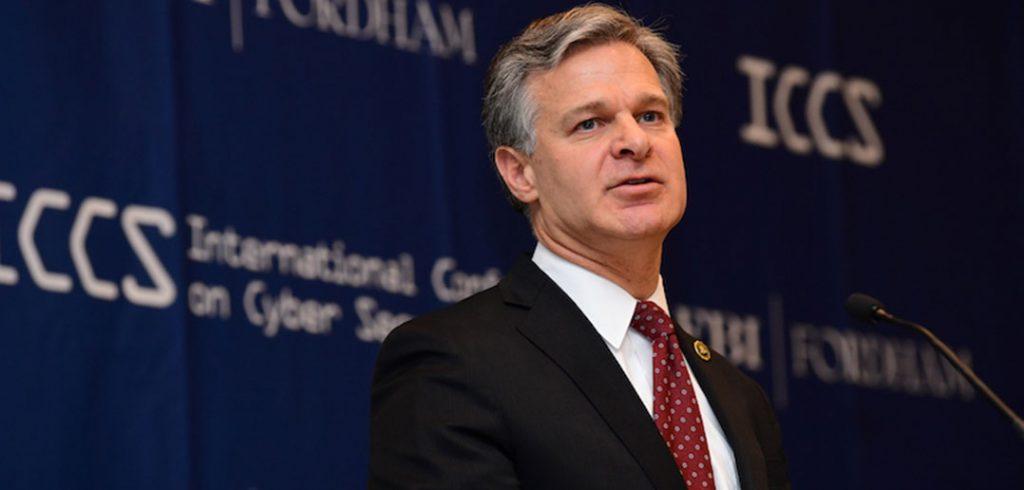 FBI Director Christopher Wray
