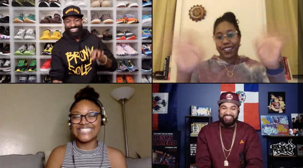 Desus Nice and The Kid Mero with Moderators Brandy Payton Monk and Saraciea Fennell