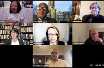 Valerie Rainford, Tyler Stovall, Maura Mast, Laura Auricchio, Eva Badowska, Father McShane, Rafael Zapata