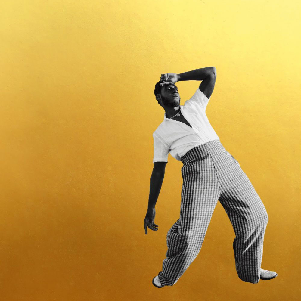 The cover image of Leon Bridges' album Gold-Diggers Sound