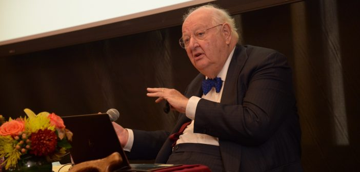 Nobel Laureate and Renowned Economist Addresses Global Poverty Issues at Fordham Conference