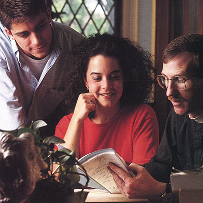 As dean of Fordham College at Rose Hill during the 1990s, Father McShane worked closely with students, encouraging them to pursue and earn prestigious scholarships.