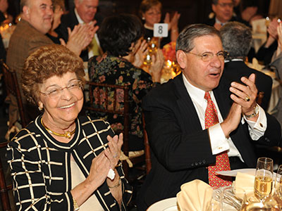 Norma and John Tognino celebrated their 50th wedding anniversary at Fordham in 2009. Photo by Chris Taggart