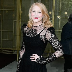 Patricia Clarkson, FCLC '82, arrives at the Met Opening Night Gala on Monday, Sept. 27. (Photo by Rommel Demano/BFA.com)