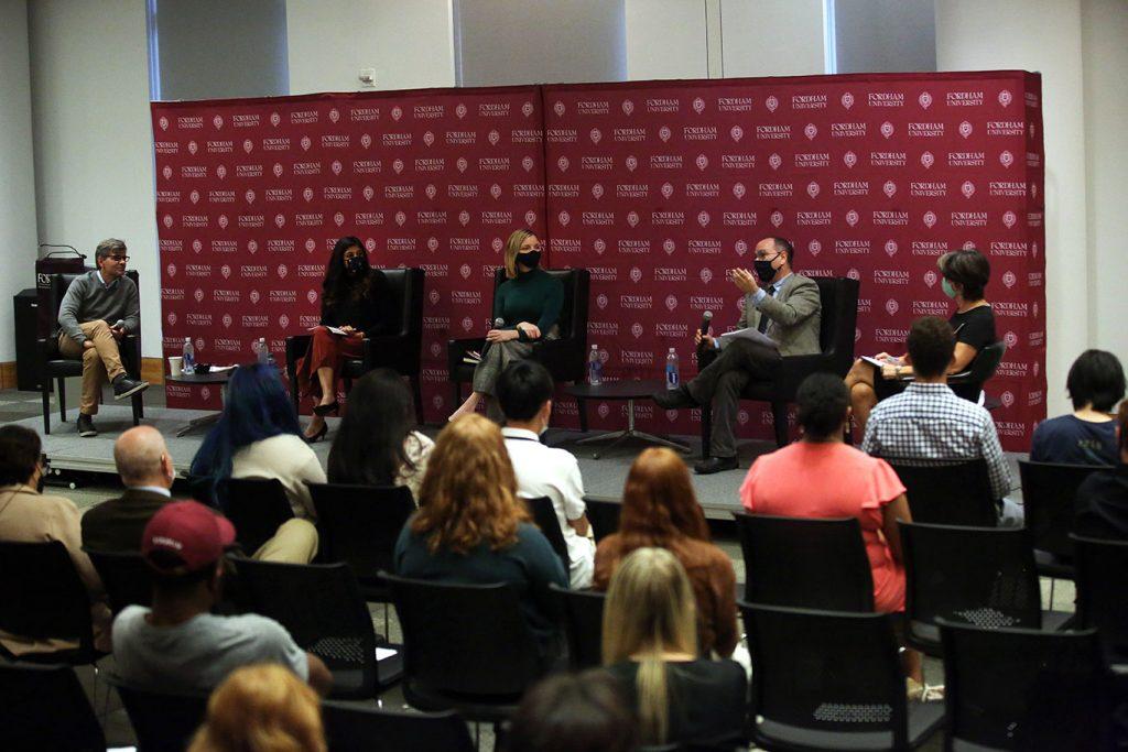 George Stephanopoulos, Roshni Nedungadi, Kristen Soltis Anderson; Robert Talisse, and Monika McDermott